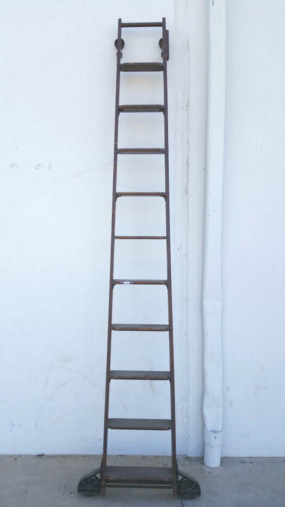 Wooden Library Ladder