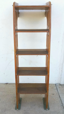 Extendable Wooden Boat Ladder