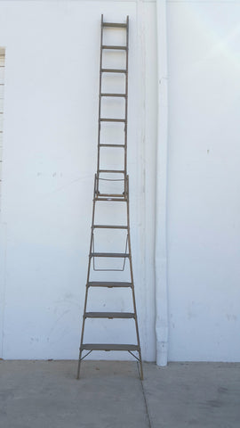 Tall Wooden Ladder