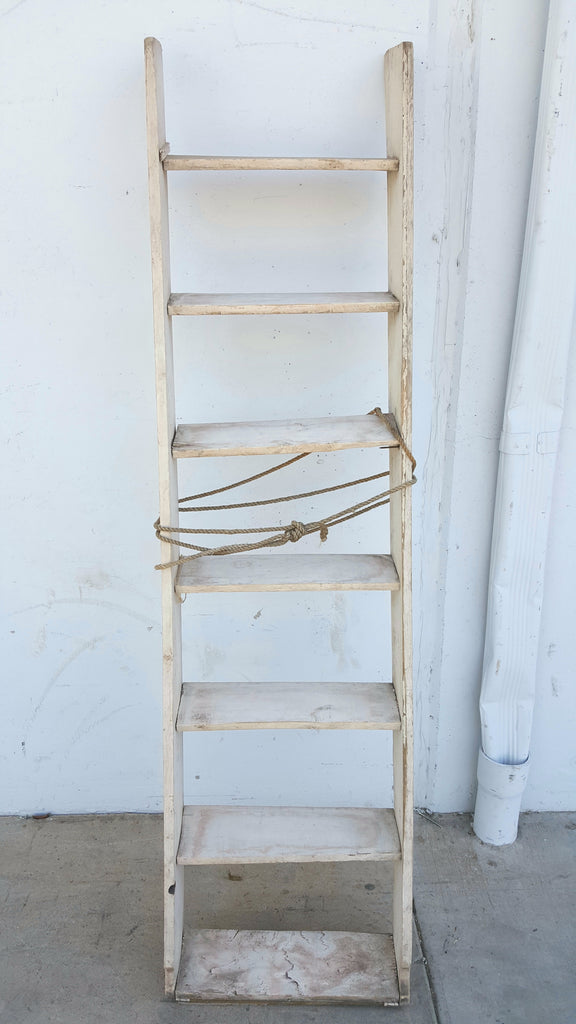 White Wooden Stairs/Ladder
