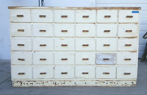 30 Drawer French Cabinet, c.1890