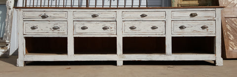 8 Drawer Wooden Store Counter/Island