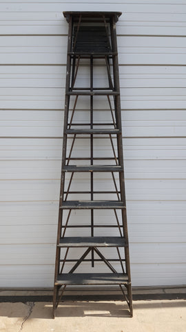 Black Wooden Ladder