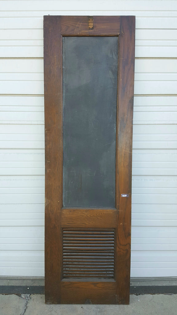 Slate Insert Single Wood Door