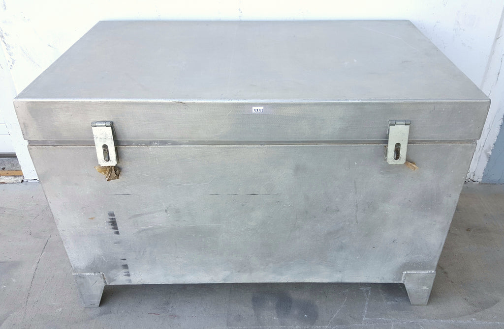 Metal Chest/Trunk with Interior Insert