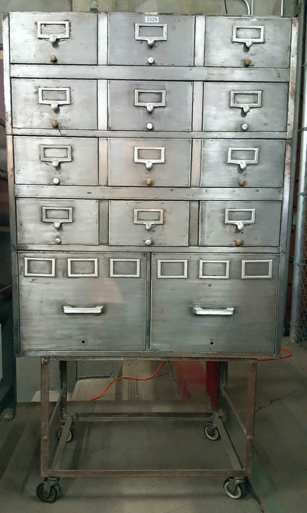 14 Drawer Card Catalog and File cabinet
