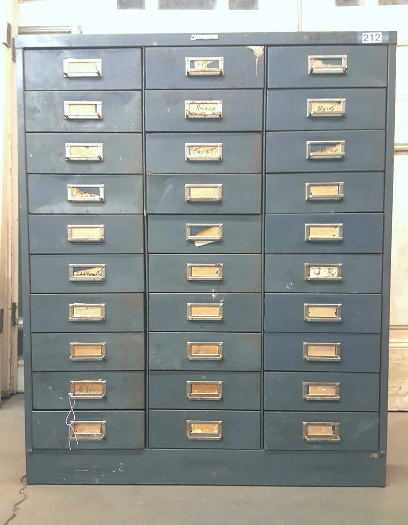 30 Drawer File Cabinet