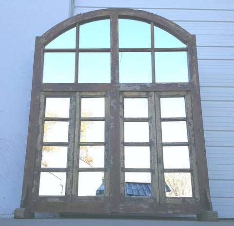 20 Pane Industrial Mirror