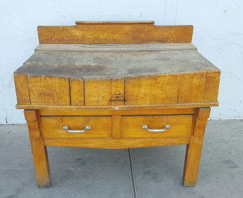Butcher Block/Kitchen Island from Laren, North Holland