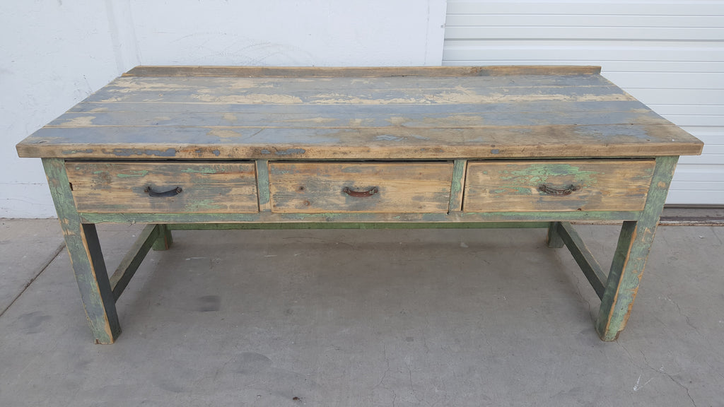 3 Drawer Wooden Work Table