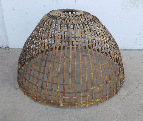 Wicker Basket Lamp Shade
