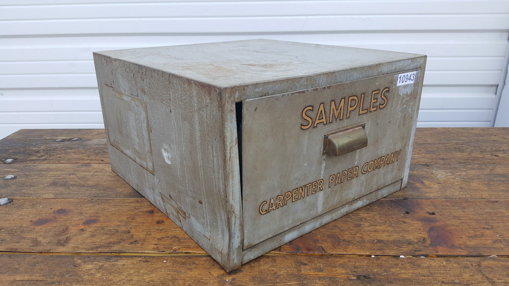 Gray Store Display Counter; Carpenter Paper Company