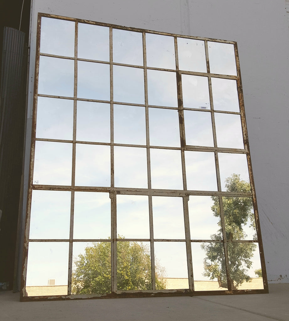 36 Pane Iron Factory Window/Mirror