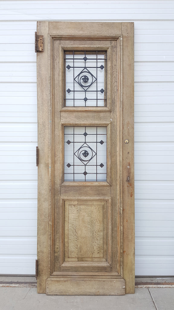 Oak Door from Belgium, c. 1890