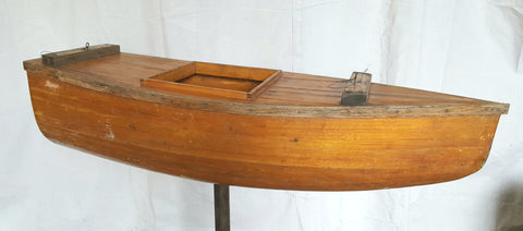 Small Wood Boat
