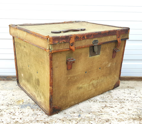 Antique Linen Trunk