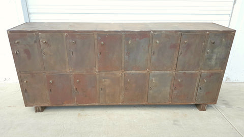 Iron Locker Cabinet