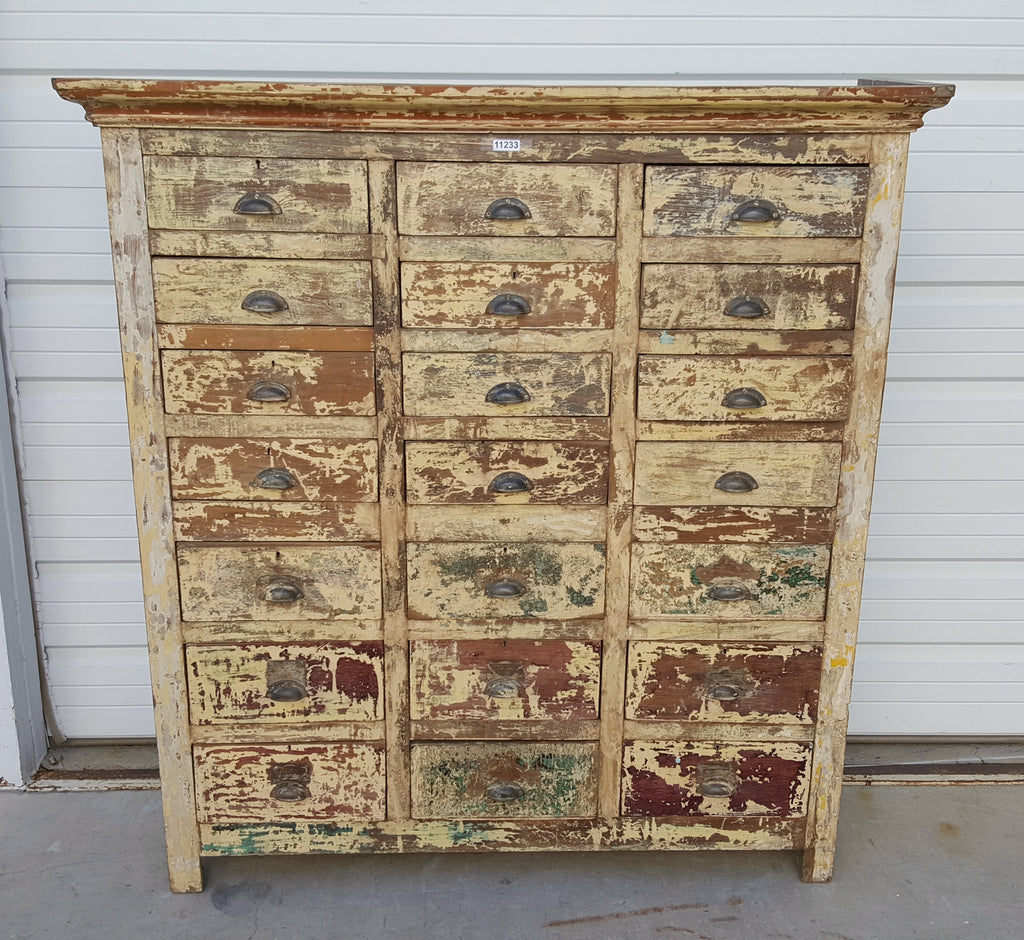Painted Wood Chest