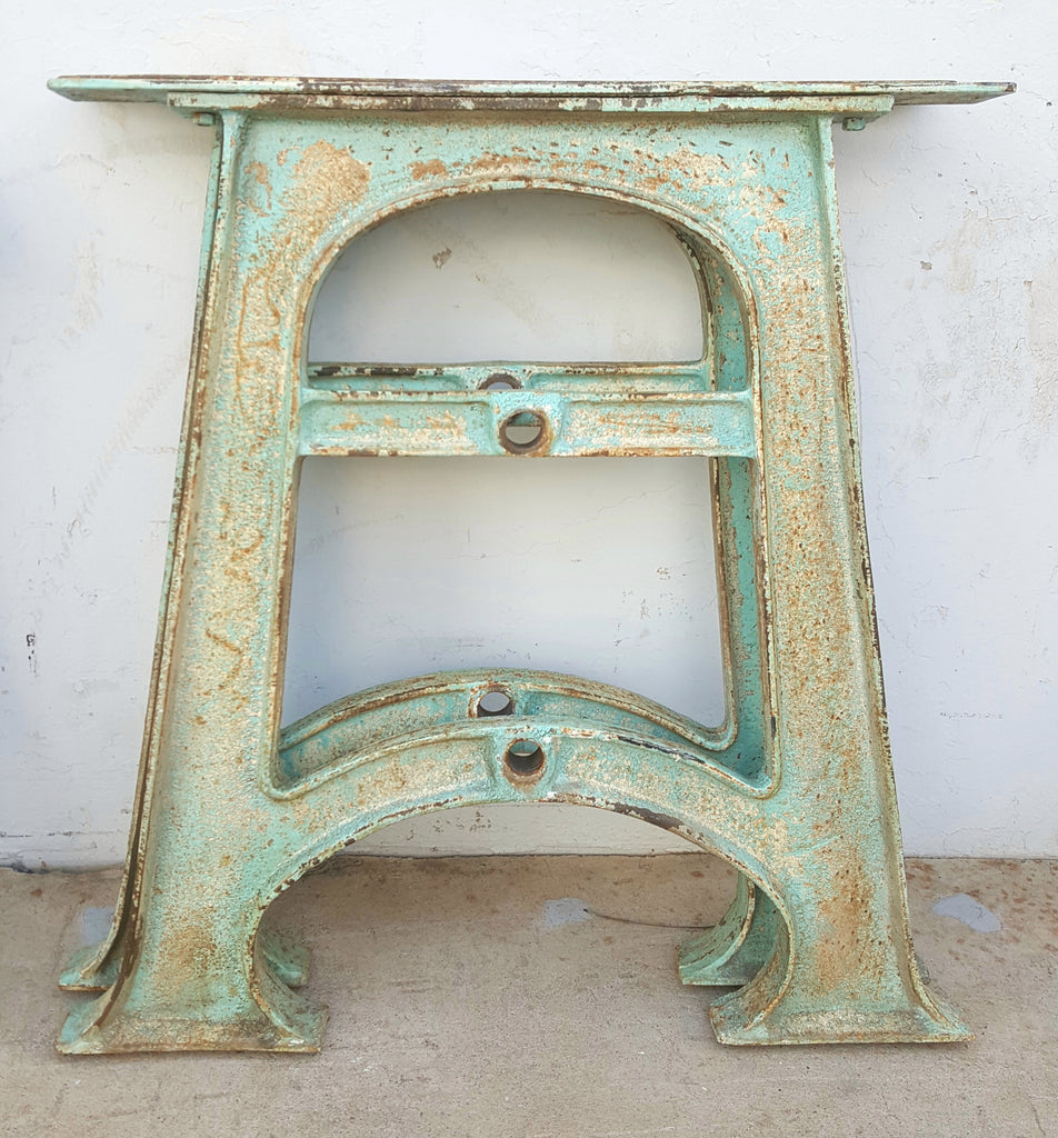 Painted Iron Table Legs/Base