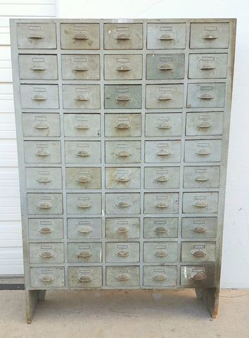 50 Drawer Iron Cabinet