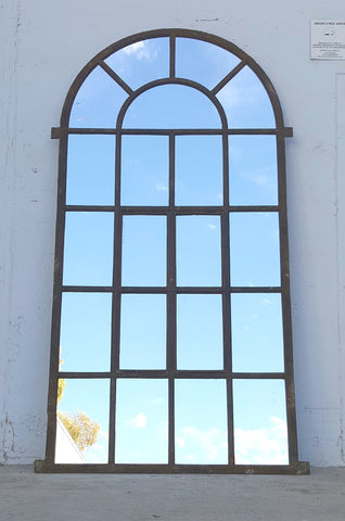 Industrial Arched Top Mirror