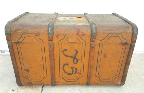 Antique Hard Sided Trunk