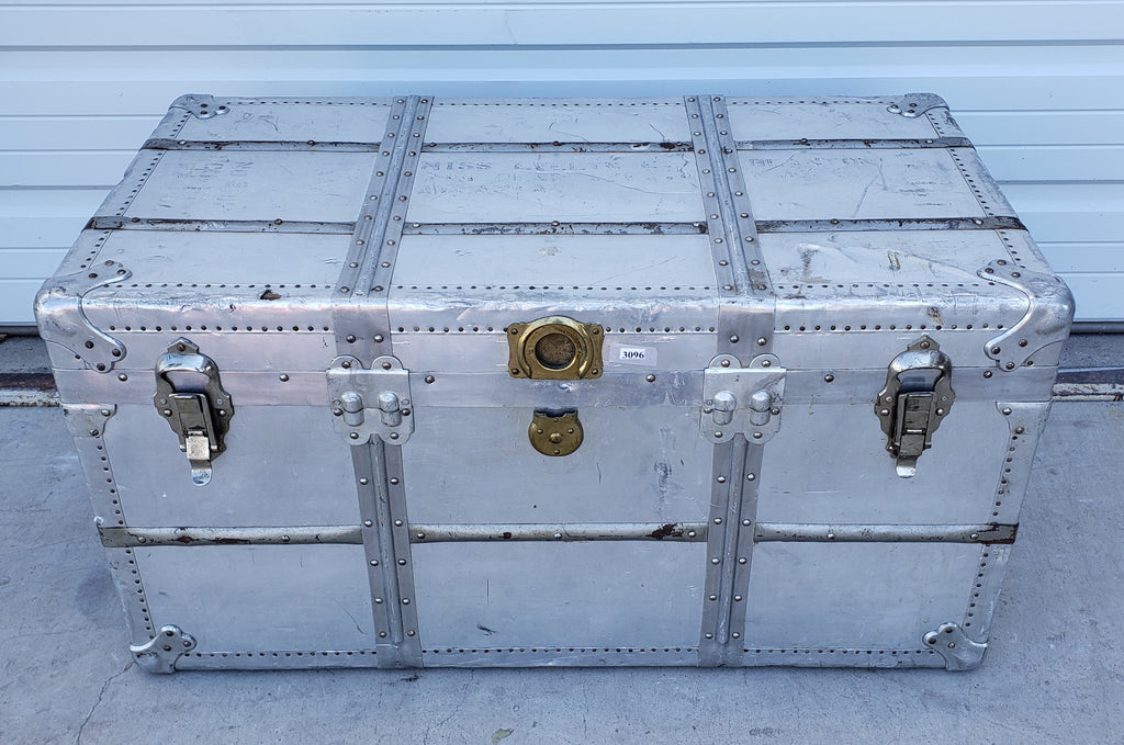 Polished Metal Trunk