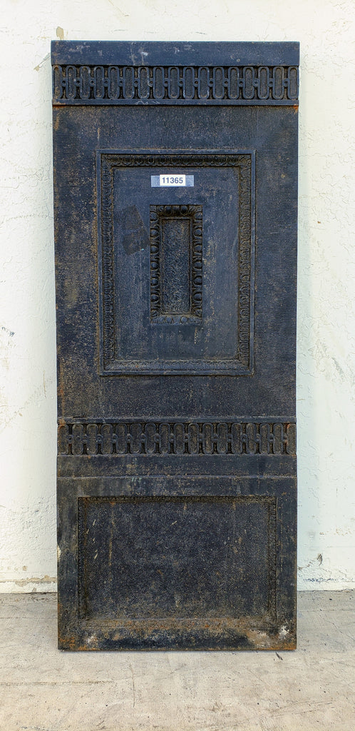 Cast Iron Decorative Panel From Elevator