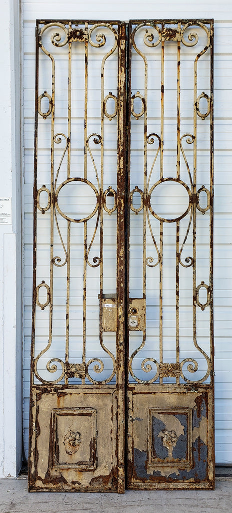 Tall Entry Gates from a French Chateau