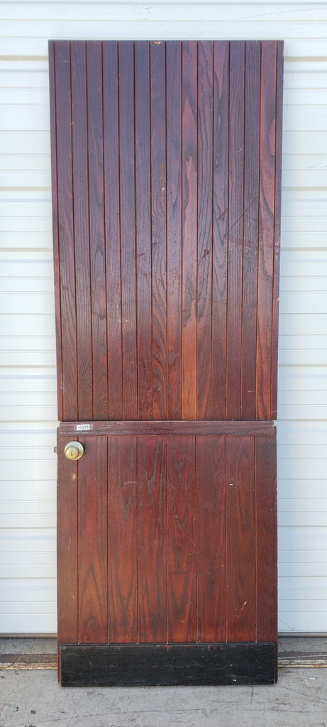 Oak Dutch Door