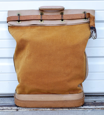 Vintage Bank/Security Bag