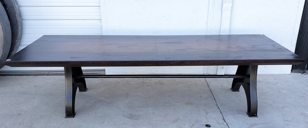 10 Foot Reclaimed Dining Table Antiquities Warehouse