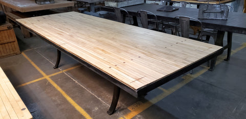 10' Reclaimed Bowling Alley Table