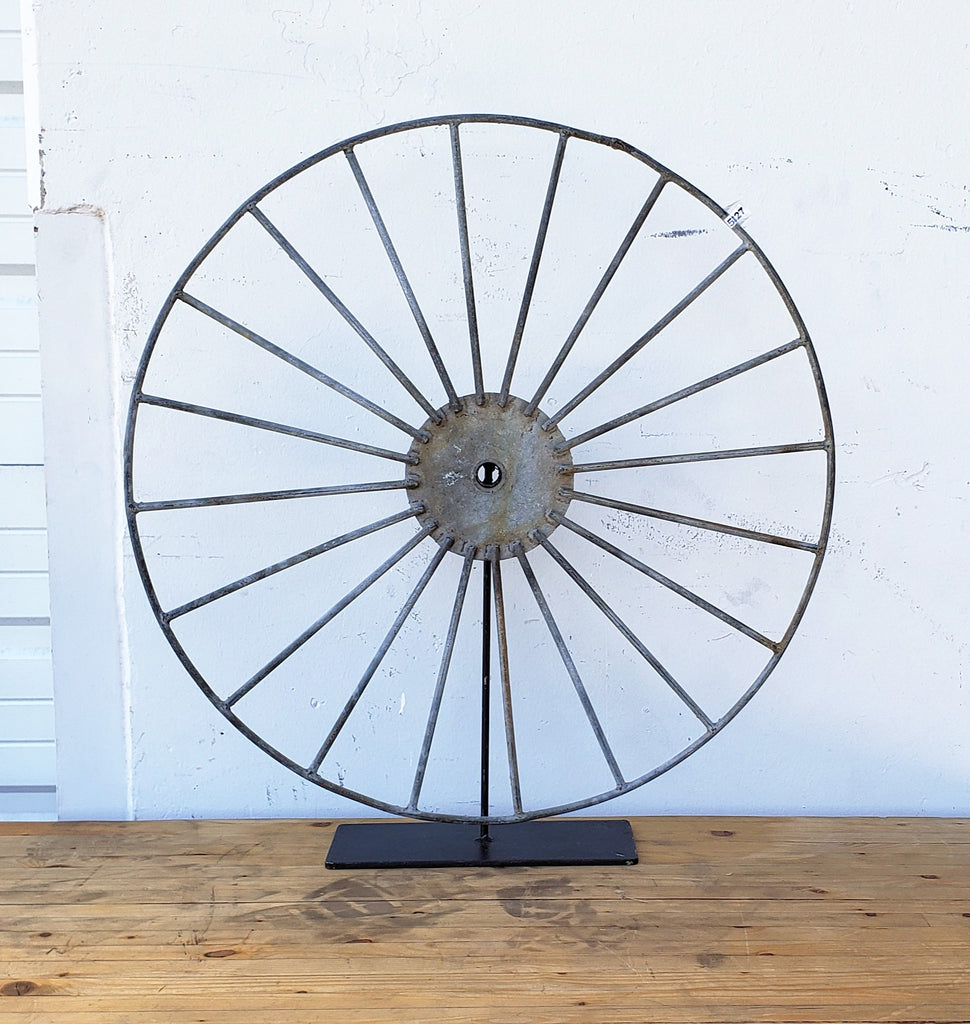 Spoked Wheel on Stand