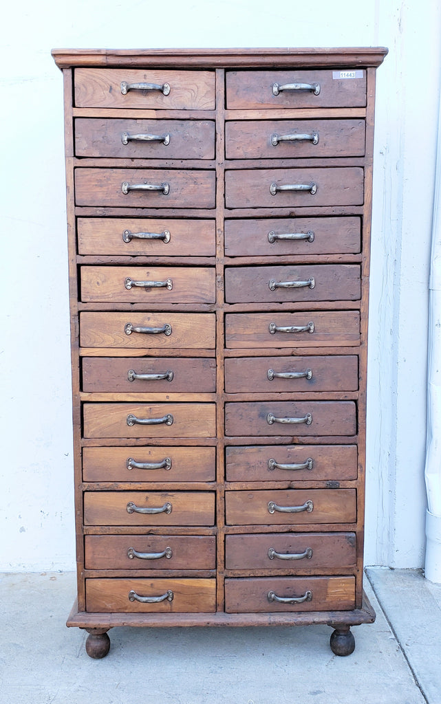 24 Drawer Wooden Cabinet