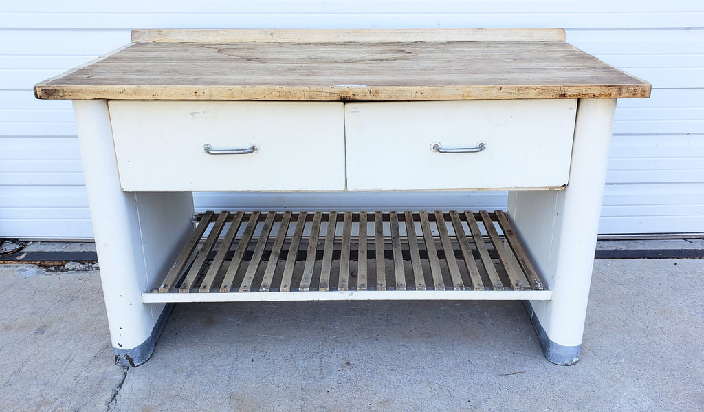 Industrial Iron Sideboard/Bar