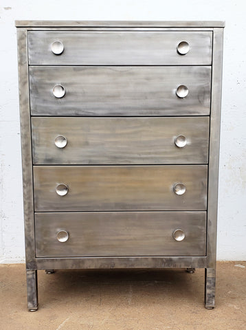 Stripped High Dresser