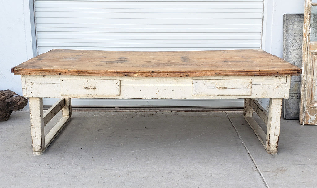 Large Butcher Block Table