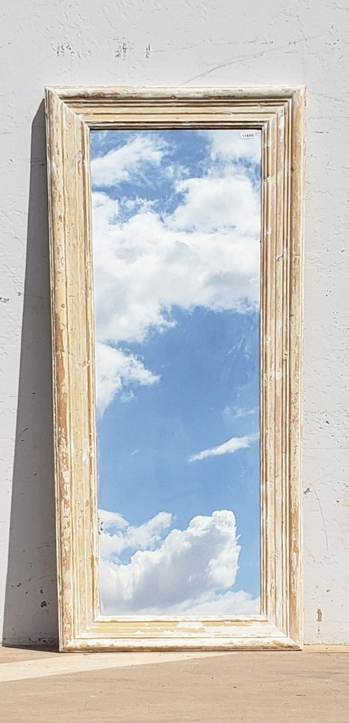 Single Pane Painted Mirror