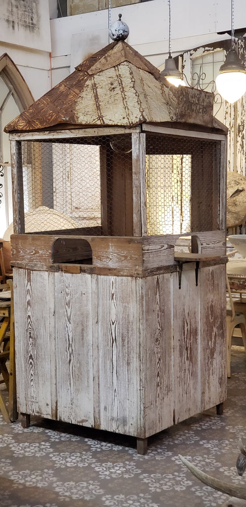 Antique Fairgrounds Ticket Booth