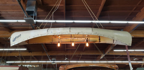 Hanging Canoe w/Lights