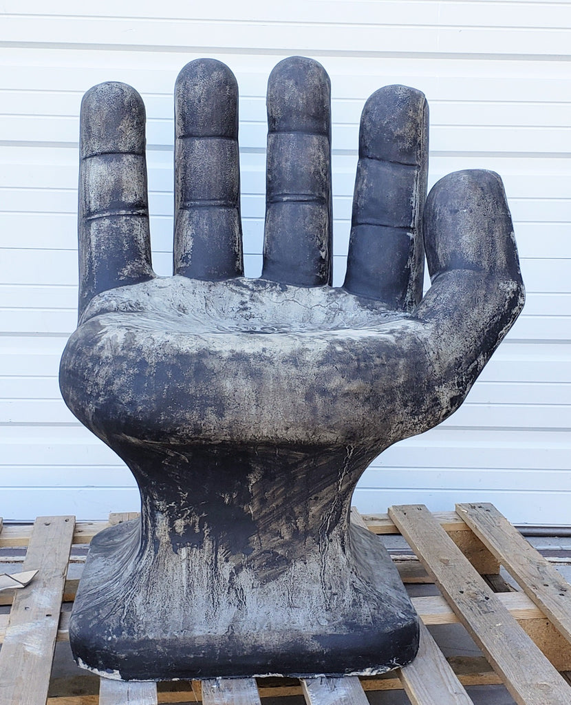Concrete Hand Chair