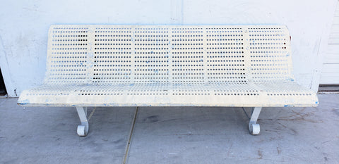 French Metal Bench