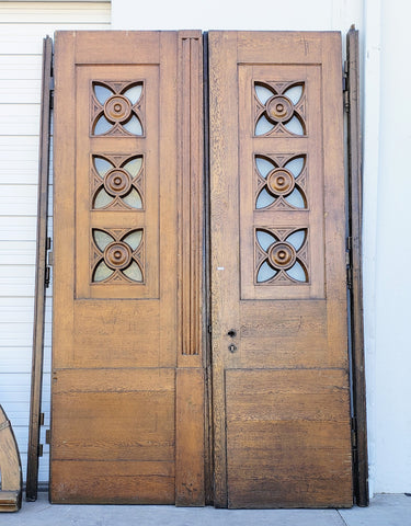 6 Piece Antique Wood Door