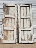 Pair of Large Wooden Belgian Barn Doors