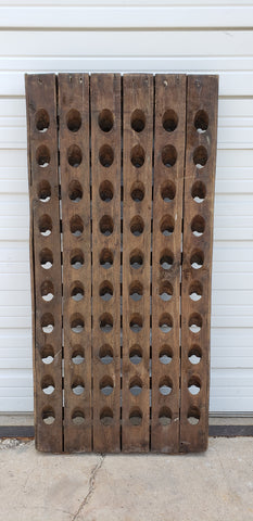 Wall Mount Wine Riddling Rack