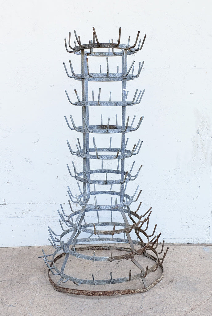 10 Tier Bottle Drying Rack