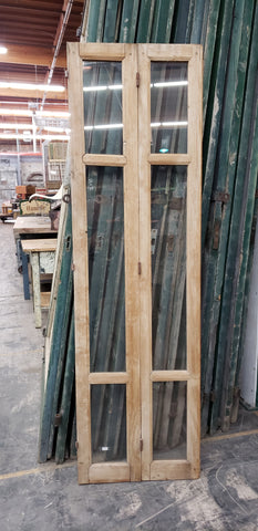 Hinged Wood and Glass Window/Door