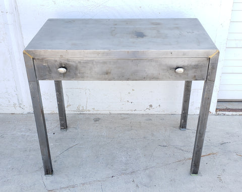 Stripped Metal Desk