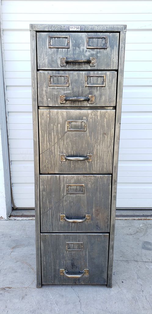 Stripped File Cabinet